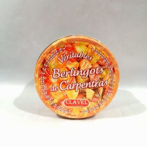 Bonbons Berlingots Assortis boîte fer 300g