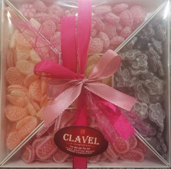 Coffret cadeau bonbons